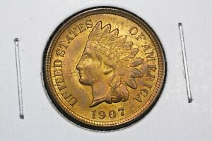 Click now to see the BUY IT NOW Price! 1907 INDIAN HEAD CENT CH. BU RB