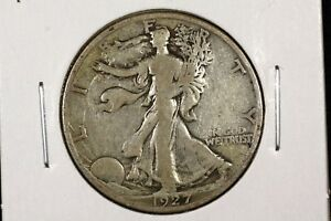 Click now to see the BUY IT NOW Price! 1927 S 50C WALKING LIBERTY HALF DOLLAR VG
