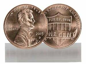 2015 D BU LINCOLN CENT ROLL