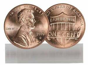 2010 D BU LINCOLN CENT ROLL