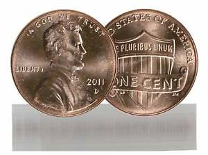 2011 D BU LINCOLN CENT ROLL