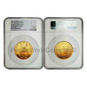 Click now to see the BUY IT NOW Price! CANADA 2006 1900 SHINPLASTER VIGNETTE OF BRITANNIA $300 GOLD NGC PF70 SKU7719