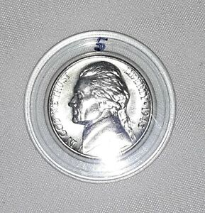 1943 D SILVER WARTIME JEFFERSON NICKEL BU