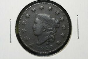 Click now to see the BUY IT NOW Price! 1820 CLASSIC HEAD LARGE CENT VF POROUS