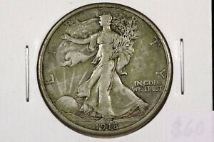 Click now to see the BUY IT NOW Price! 1918 S WALKING LIBERTY HALF CHOICE FINE