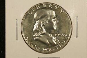 Click now to see the BUY IT NOW Price! 1959 PROOF FRANKLIN HALF GEM PROOF