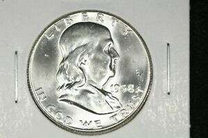 Click now to see the BUY IT NOW Price! 1958 FRANKLIN HALF CH. BU