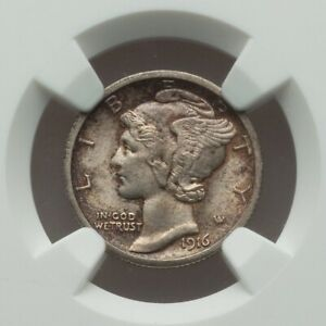 Click now to see the BUY IT NOW Price! 1916 S MERCURY DIME NGC MS 64 FB