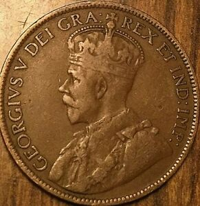 1919 NEWFOUNDLAND LARGE CENT COIN LARGE 1 CENT PENNY