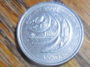 2000 CANADA INGENUITY COMMEMORATIVE 25 CENT COIN  SELLER'S  255