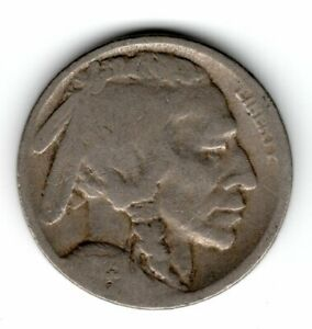 1923 S BUFFALO NICKEL  N38