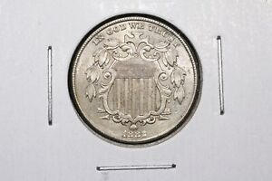 Click now to see the BUY IT NOW Price! 1882 SHIELD NICKEL AU     SLIDER BU