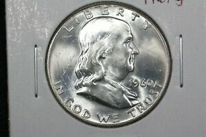 Click now to see the BUY IT NOW Price! 1960 FRANKLIN HALF CHOICE BU