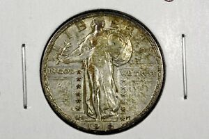 Click now to see the BUY IT NOW Price! 1918 D STANDING LIBERTY QUARTER CHOICE XF