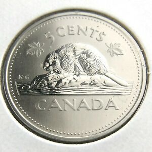 2002 P SPECIMEN CANADA 5 CENTS NICKEL UNCIRCULATED CANADIAN COIN FIVE CENTS N681
