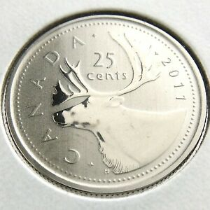 2011 SPECIMEN CANADA 25 CENTS QUARTER UNCIRCULATED CANADIAN COIN N690