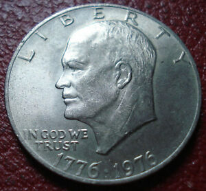 1976 IKE DOLLAR IN UNCIRCULATED CONDITION