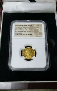 Click now to see the BUY IT NOW Price! WESTERN ROMAN EMPIRE GRATIAN AD 367 383 AV SOLIDIUS ULTRA  MS VARIETY GOLD