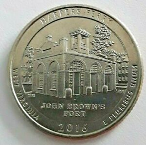 2016 P HARPERS FERRY US NATIONAL PARK QUARTER    LY FINE