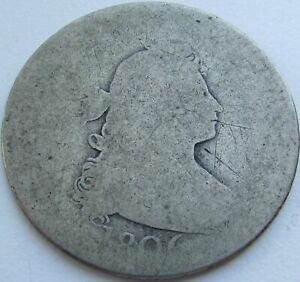 1806 DRAPED BUST QUARTER IN A SAFLIP