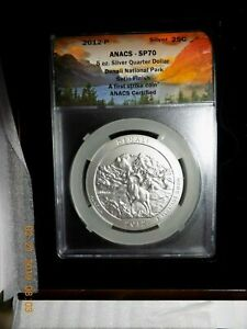 Click now to see the BUY IT NOW Price! 2012 P DENALI NP 5 OZ. SILVER   ANACS SP70 FIRST STRIKE .999 AG  LIMITED