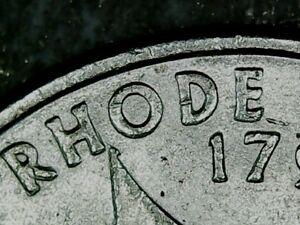 2001P  RHODE ISLAND WASHINGTON QUARTER.  DOUBLE