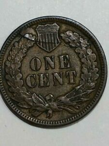 1891  INDIAN HEAD  CENT LAMINATION PEEL   SEE THE PICS