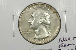 Click now to see the BUY IT NOW Price! 1939 WASHINGTON QUARTER NEAR GEM TONED PROOF
