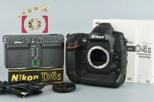 EXCELLENT      NIKON D4S 16.2MP FULL FRAME DIGITAL SLR CAMERA BODY
