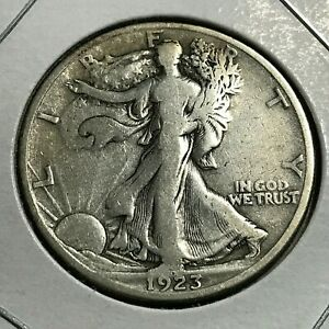 1923 S  SILVER WALKING LIBERTY HALF DOLLAR BETTER DATE  COIN