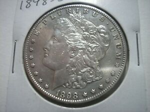 SBB48 USA 1898 S SILVER MORGAN DOLLAR