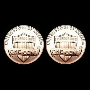 2010  P & D   LINCOLN SHIELD CENTS   BU  TWO COINS