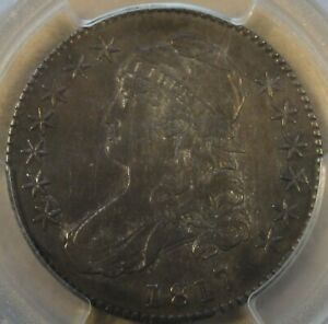 1817 CAPPED BUST HALF DOLLAR 50C O 110 PCGS CERTIFIED AU50