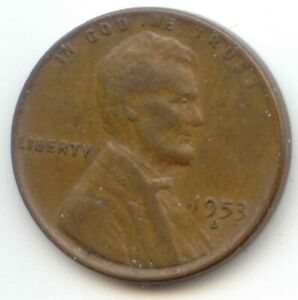 USA 1953D ONE CENT AMERICAN PENNY   1953 D 1C EXACT COIN SHOWN