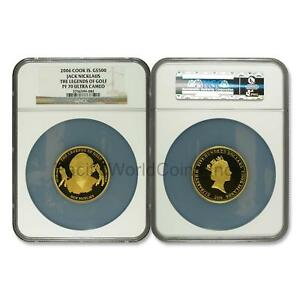 Click now to see the BUY IT NOW Price! COOK ISLANDS 2006 JACK NICKLAUS $500 GOLD NGC PF70 ULTRA CAMEO SKU6678