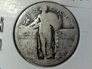 STANDING LIBERTY QUARTER NO DATE