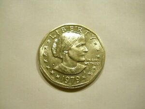 ABOUT UNC. 1979 P SUSAN B. ANTHONY DOLLAR