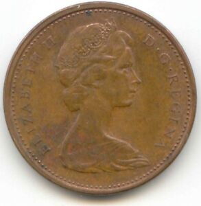 CANADA 1973 CANADIAN PENNY ONE CENT 1C LOTB