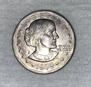 1979 MINT ERROR SUSAN B ANTHONY DOLLAR COIN