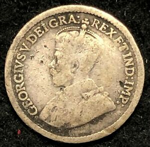 1914 CANADA FIVE CENTS