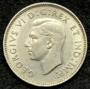 1937 CANADA FIVE CENTS