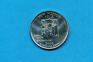 2008 D NEW MEXICO UNCIRCULATED STATE QUARTER
