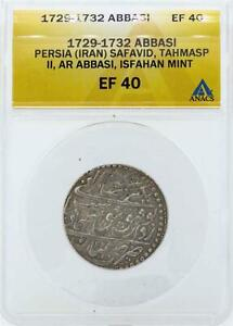 Click now to see the BUY IT NOW Price! 1729 1732 PERSIA SAFAVID ABBASI COIN ANACS EF40