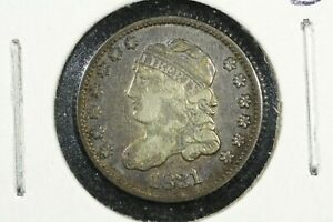 1831 CAPPED BUST HALF DIME  FINE