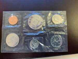 1972 CANADA MINT SET 6 COINS GREAT LUSTER