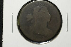 1803 DRAPED BUST LARGE CENT ABOUT GOOD 2