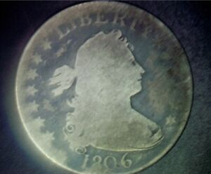 1806 DRAPED BUST QUARTER  GOOD CONDITION    ATTRACTIVE PRICE.