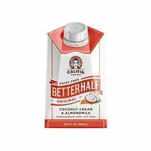 ORIGINAL BETTER HALF COFFEE CREAMER 16.9 OZ  PACK OF 6  | HALF AND HALF | CO