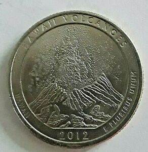 2012 P HAWAII VOLCANOES ATB NATIONAL PARK QUARTER  LY FINE