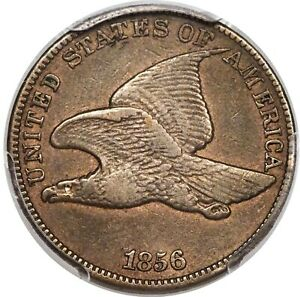 1856 FLYING EAGLE CENT PCGS PR 30 CAC